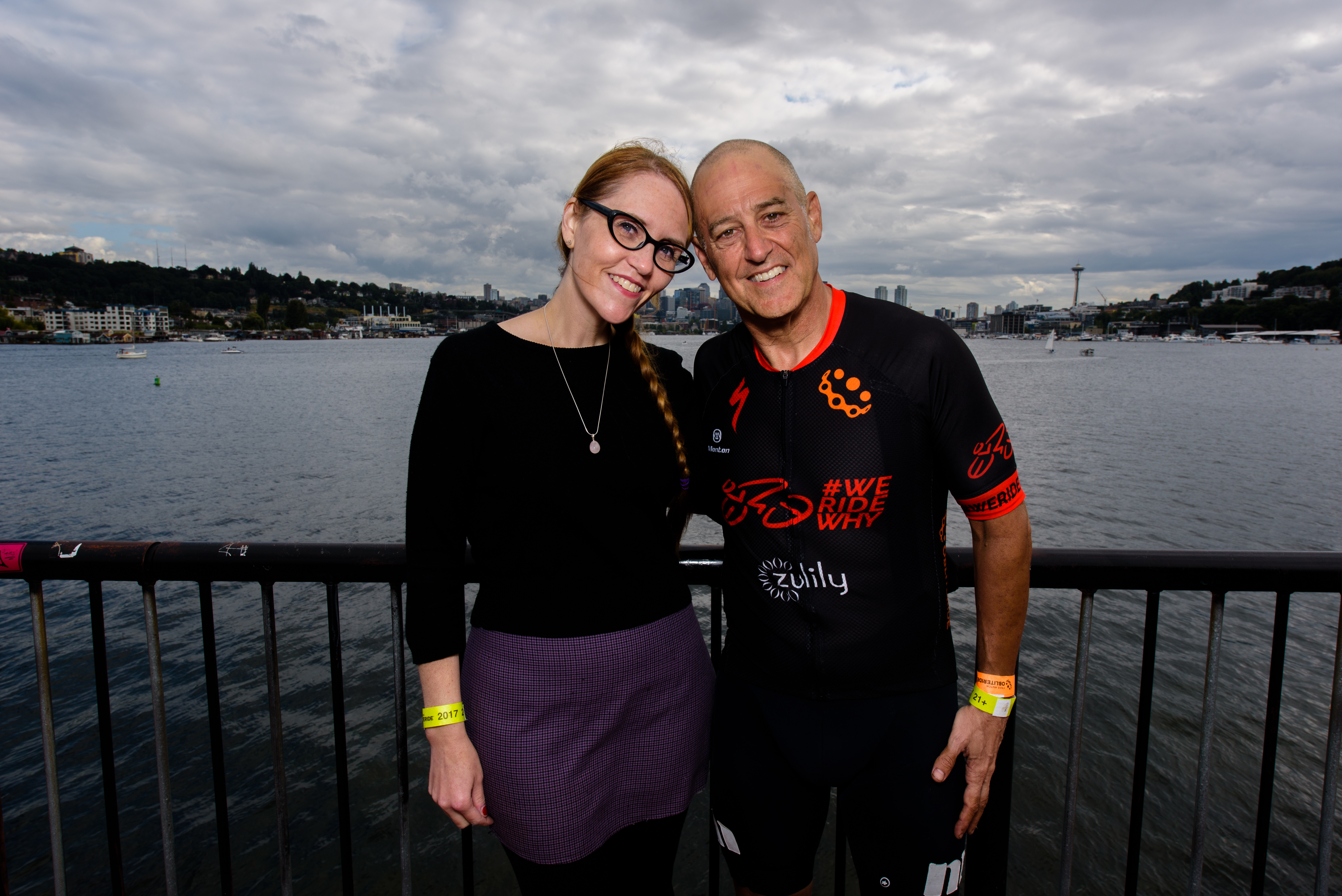 Jenny George and Greg Roth at Gas Works Park